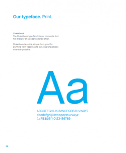 Skype Brand Guidelines. imjustcreative blog is an interesting and practical blog for graphic designers. There is an interesting section on brand guidelines, of particular interest are the  Skype Brand Identity Book and Guidelines. It's always enlightening and inspiring to look at company brand guidelines, particularly  for large brands such as Skype, I Love New York, FourSquare and even NASA. A great resource available in one place!