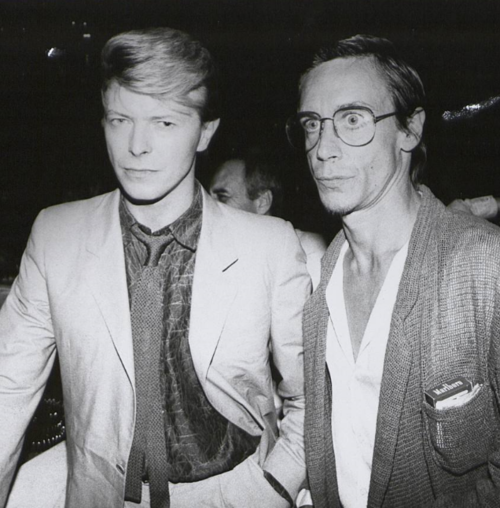 PHOTO: David Bowie and Iggy Pop