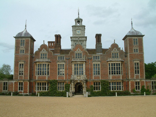 Blickling Hall - the front close up by Kevin R Boyd on Flickr.