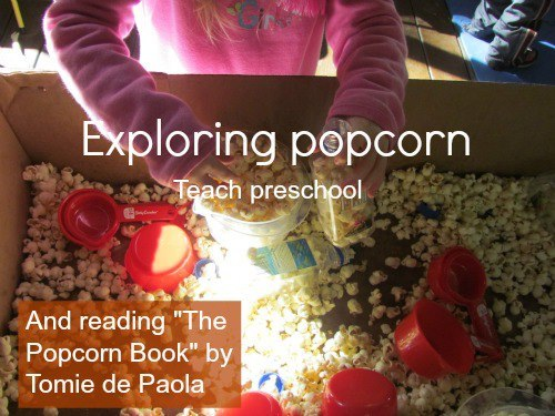 Click the link to read all about our popcorn adventures:http://www.teachpreschool.org/2012/11/the-popcorn-book/