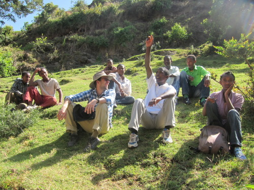 Hiking with the Environment Club around Dodola