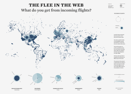 The flee in the web. What do you get from incoming flights?