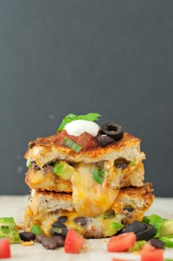 gastrogirl:  the loaded nacho grilled cheese.