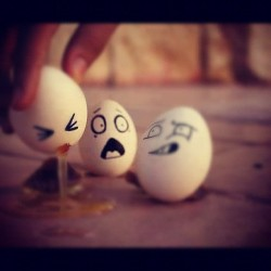imuney:  Lmfao damn G!!!! #hangover  #eggs #badeggs #bad #shock #sared #fear