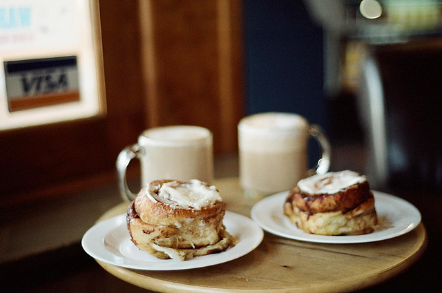 silents:  best cinnamon roll in town by mokochen on Flickr.