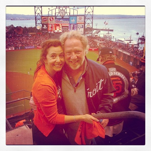 WS game I 2012 (at Candlestick Park)