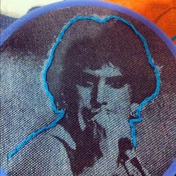 manuprintster:  A new #needlework #embroidery #art #transfer #printmaking #freddiemercury (at Printster's Studio)  THANK YOU!