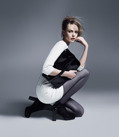 Frida Gustavsson for Tiger of Sweden A/W 12.
