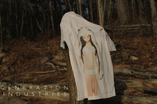 "generationindustries:  GENERATION INDUSTRIES… A new clothing company ""COMING SOON"" Spirit Tee. Twitter/Instagram: @generation_ind http://www.generationindustries.com FINALLY LAUNCHED MY CLOTHING LINE! GO FOLLOW US :)"