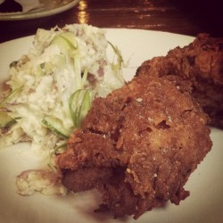 Fried Chicken at Brunch (at Roberta's Pizza)