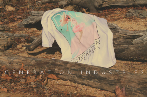 "generationindustries:  GENERATION INDUSTRIES… A new clothing company ""COMING SOON"" DANCE Tee. Twitter/Instagram: @generation_ind http://www.generationindustries.com  FINALLY LAUNCHED MY CLOTHING LINE! GO FOLLOW US :)"