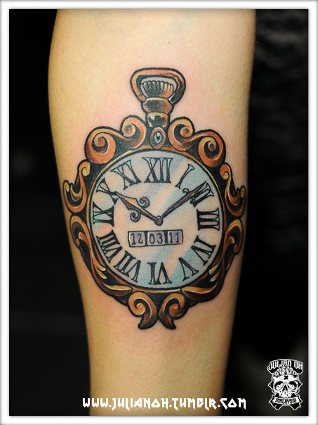 Suzanne's Pocket Watch | Done at Mad Science, Den Haag, Netherlands