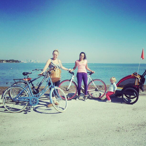 Sunday #Biking with the fam. #biketoday #miamibikescene #miami #bikes