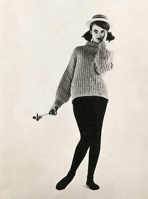 steroge:  Grace's first model card, 1959 (Grace Coddington, creative director of US Vogue)