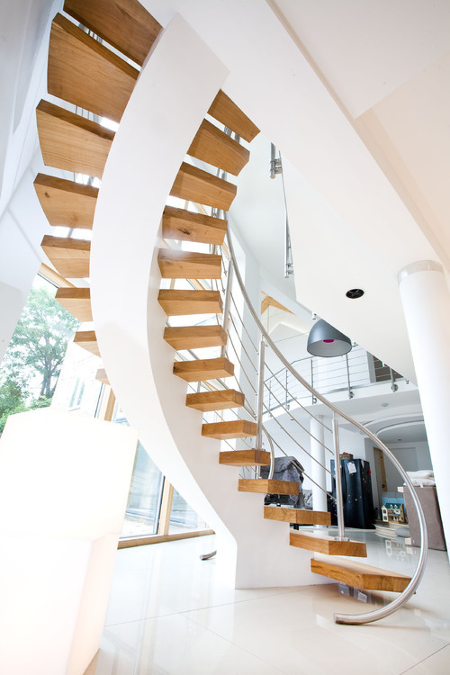 justthedesign:  Contemporary Staircase From A London Home