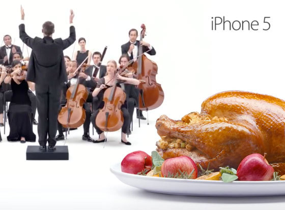 News Apple iPhone 5 Ads - Turkey & Orchestra