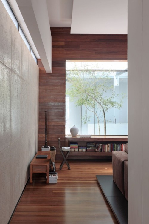 justthedesign:  Living Room The OM House By Studio Guilherme Torres
