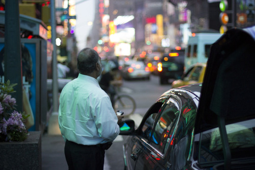 The Driver. 7th Ave, New York City.