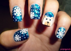 pimpmynails:  More Christmas <3