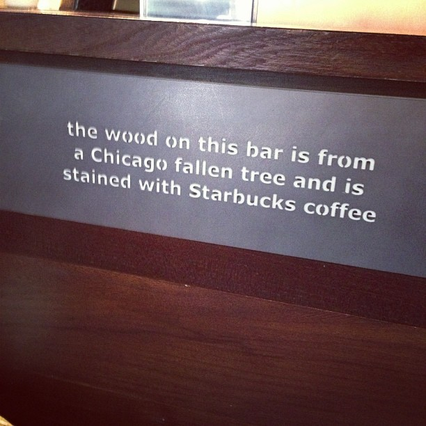 Very cool & ecofriendly @starbucks  (at Starbucks)