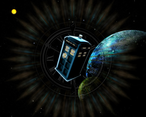 """Through Time & Space"" on Flickr.For Dr. Who fans!"