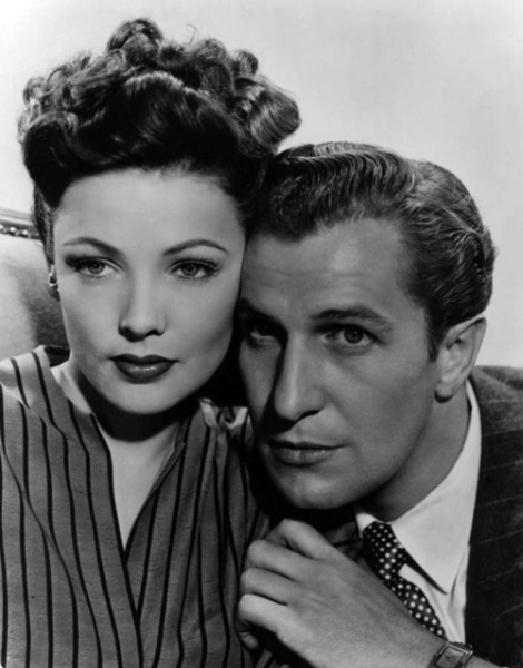beautyandterrordance:  Vincent Price and Gene Tierney, Laura (1944)