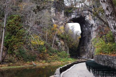 the-wintergreen-mountain-diaries:  Natural Bridge, Virginia Very close to my house.