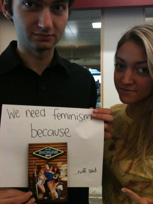 whoneedsfeminism:  I need feminism because this ridiculously sexist and offensive ad was being handed out at my school at the University of Massachusetts, Amherst. Sign this petition to try to stop these horrible ad's and a society perpetuating the idea that such advertisements are ok. https://www.change.org/petitions/tell-campus-vacations-stop-the-sexist-ad-s?  Support one of our campus organizers at Umass Amherst and sign the petition against sexist advertising!