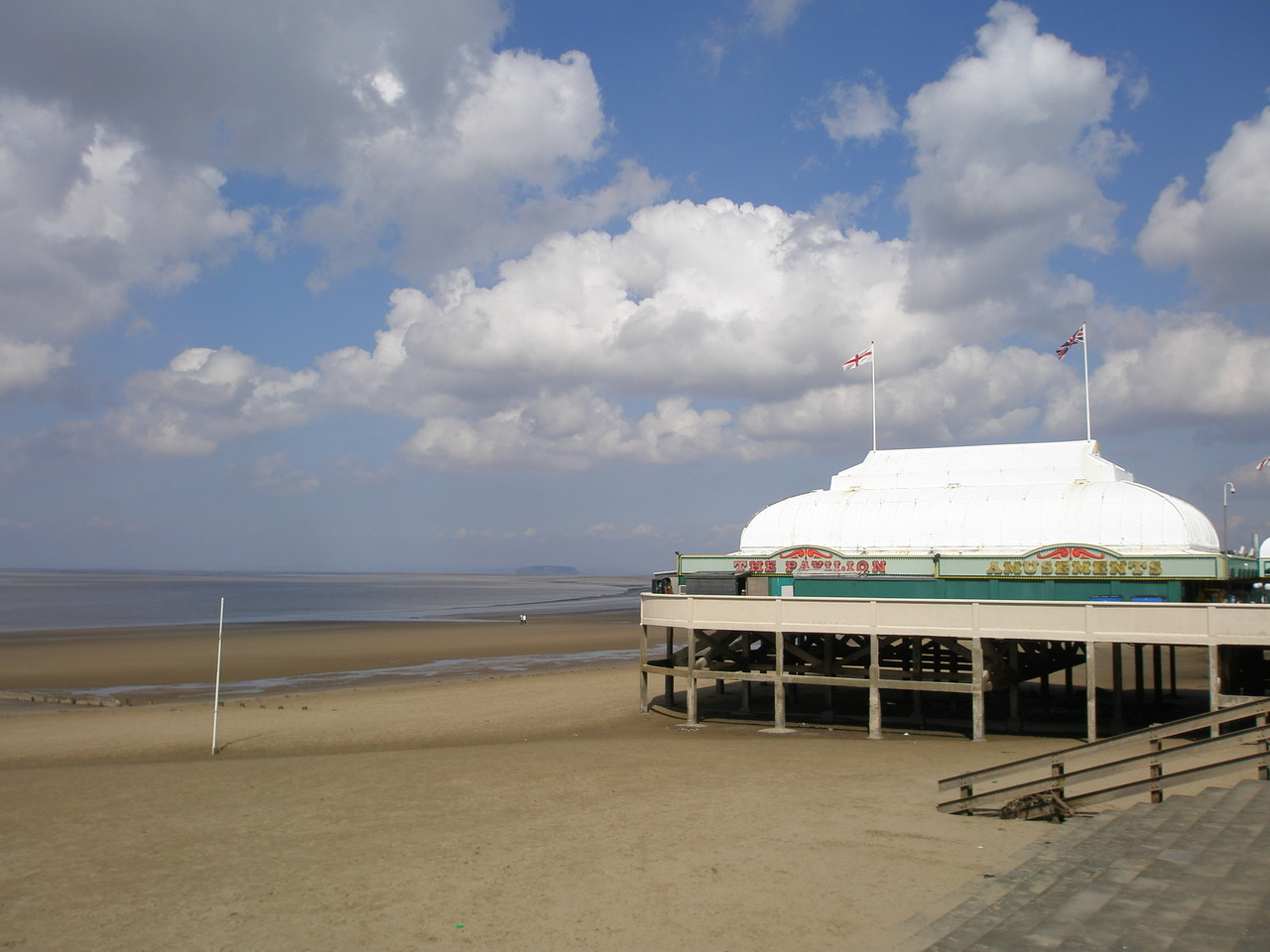 The UK's shortest pier, Burnham-on-Sea