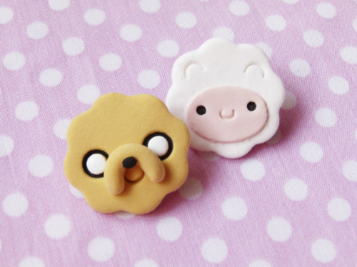 Jake the dog and Finn the human. ADVENTURE TIME!!