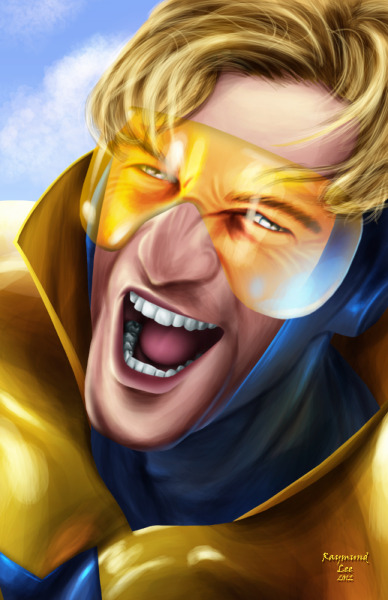 dcplanet:  Booster Gold  Art by raymundlee DC Fan Arts #27