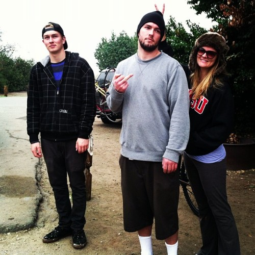 Camping. Day three in San Onofre #awkwardfamilyphotos