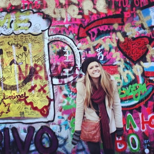 John Lennon Wall (at John Lennon Wall)