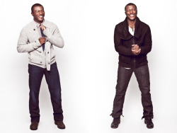"Edwin Hodge, from ""Red Dawn"", graces Zooey magazine's website! Photo by Vince Trupsin. Website 