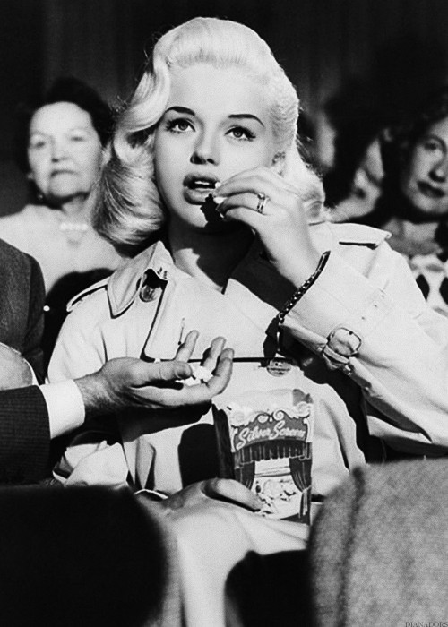 Diana Dors in I Married a Woman (1958)