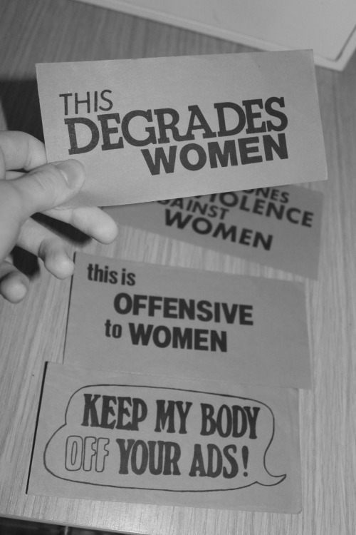 twisted-sinews:  my mum's feminist stickers from the 80s