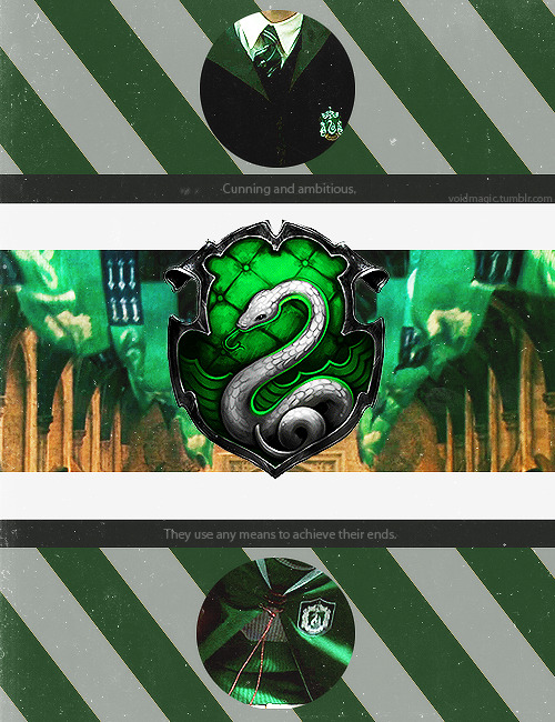 And Casilemental asked me to make a Slytherin one. (Gryffindor is over here.)