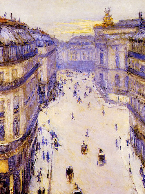 understructure:  Gustave Caillebotte - Rue Halévy, From the 6th Floor, 1878