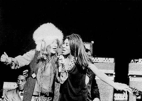 Janis Joplin and Tina Turner
