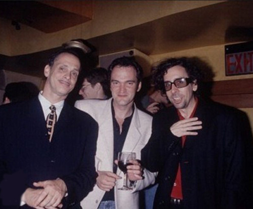 suicideblonde:  John Waters, Quentin Tarantino and Tim Burton