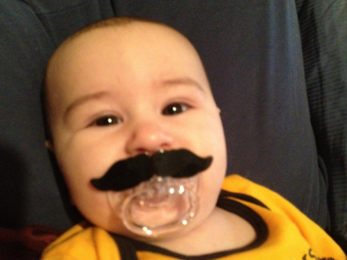 Hugo is taking Mustaches for Kids DC a bit literally, but he hopes you'll contribute to the Kids Care Fund at CNMC on behalf of my mustache by going to http://bit.ly/jacquesmustache2012 and donating a few bucks. (Or a lot of bucks, if that's how you roll).   The Kids Care Fund goes to support treatment, research and quality of care initiatives at Children's National Medical Center, which provides nearly $59 million each year in uncompensated care to families that can't afford it.