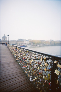 gato-dama:  him and i have a lock on this bridge; it will stay there forever. too bad he didn't.