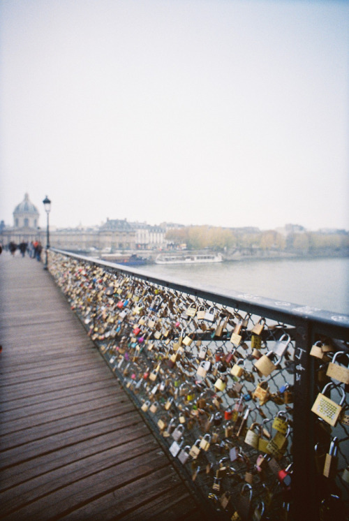 People say, that if a couple closes a lock,leaves it tied to the bridge, and then they throw the key to the water, there is no way to separate them.