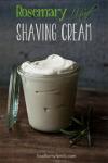 Diy rosemary mint shaving cream recipe @my-xxx-comics