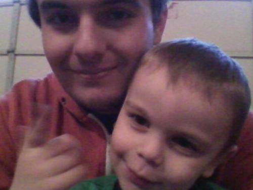 Me and my nephew :) he told me I was his best friend :D <3