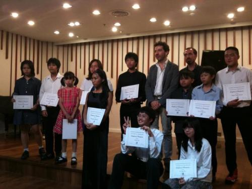 Piano masterclass @ Siam Kolkarn Ratchadapisek, Bangkok Thailand (Oct-Nov 2012). Congratulations to all the students of the masterclass!
