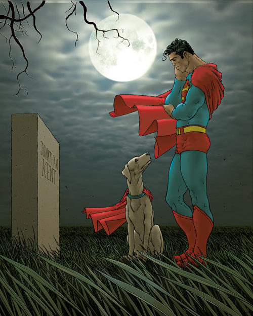 All-Star Superman #6 cover by Frank Quitely