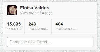 Oh, noes! I've got a 404 on twitter! D: