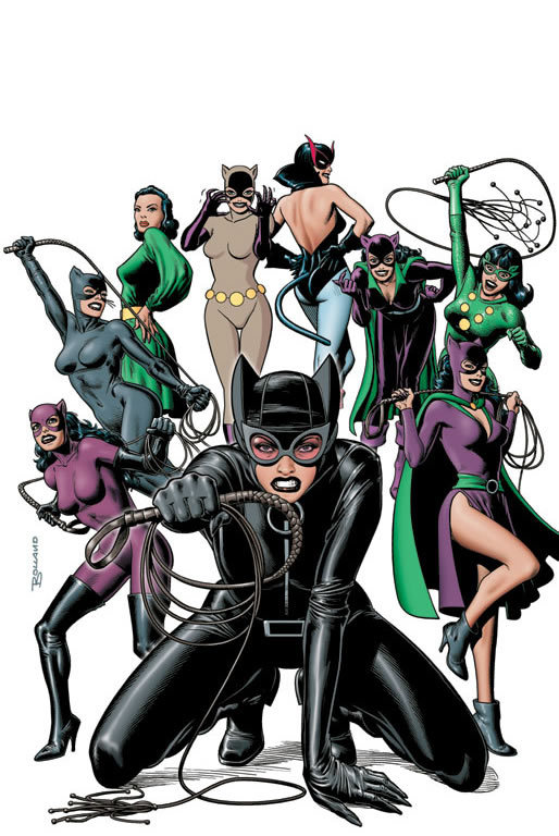 Catwoman: Nine Lives of a Feline Fatale by Brian Bolland