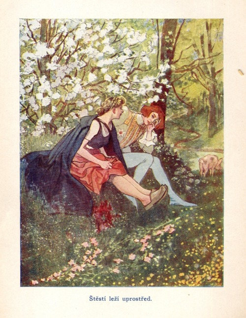 venusmilk:  Fairy Tales For AdultsIllustrated by Artuš Scheiner